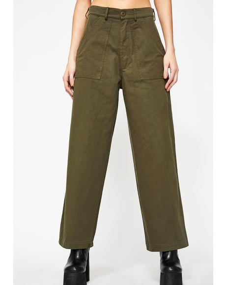 Trappin' Trooper Wide Leg Pants