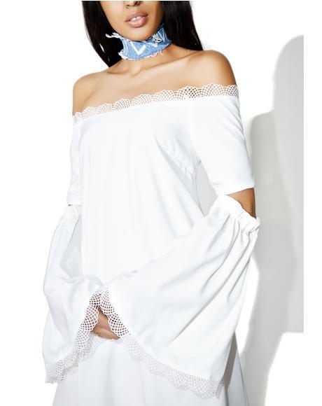 7 Wonders Off-Shoulder Dress