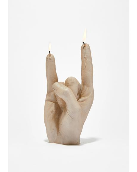 Headbanger Rock N' Roll Candle