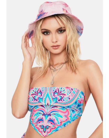 Scarf Halo Bikini Top
