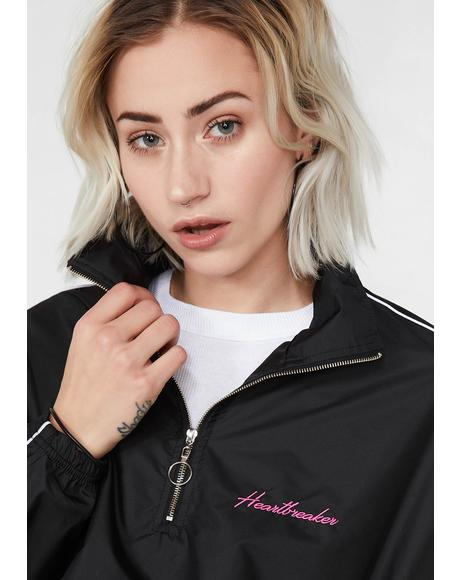 Heartbreaker Nylon Track Jacket