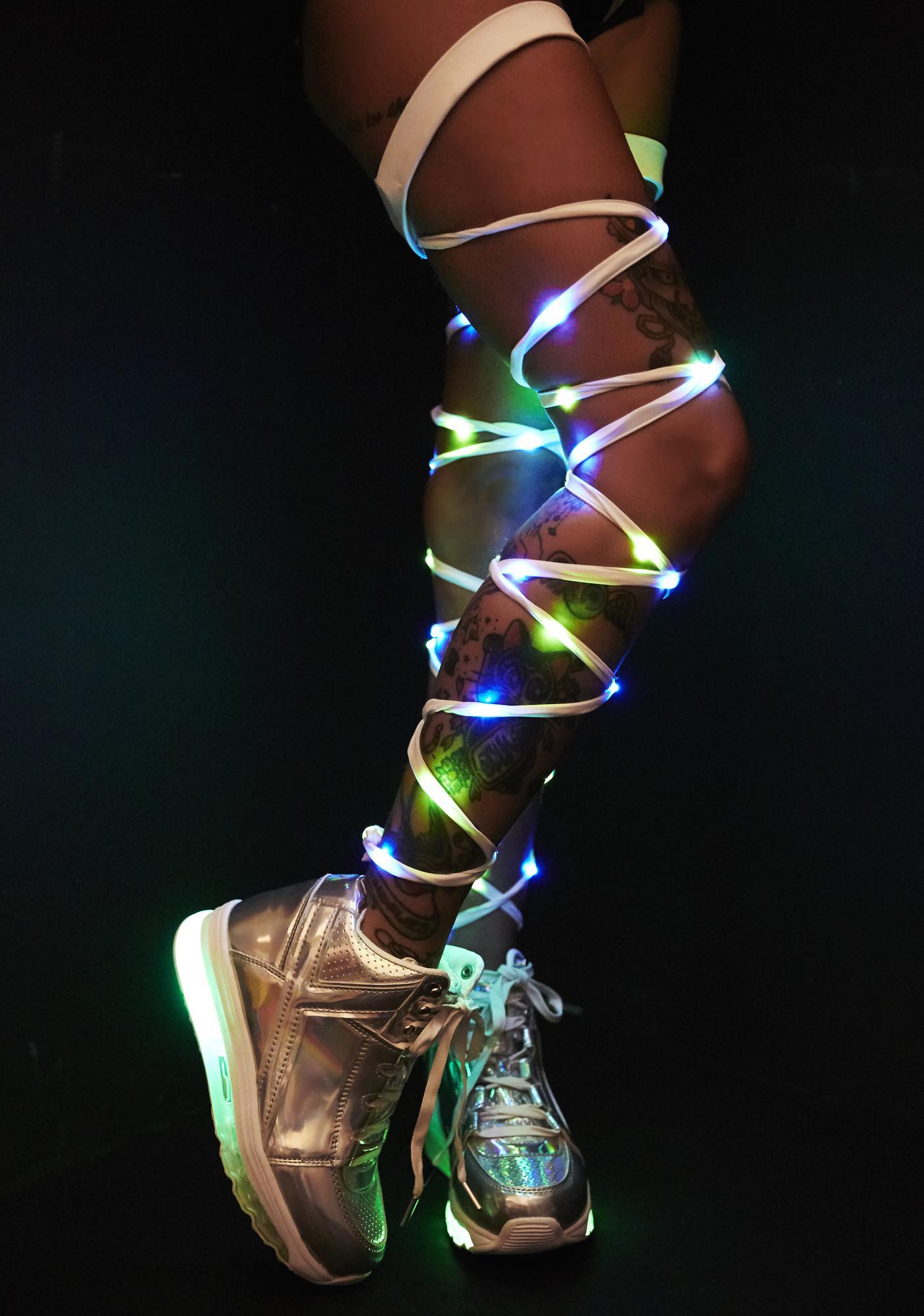 J Valentine Mermaid Light-Up Leg Wraps