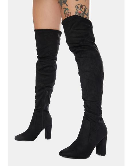 Your Enigma Knee High Boots