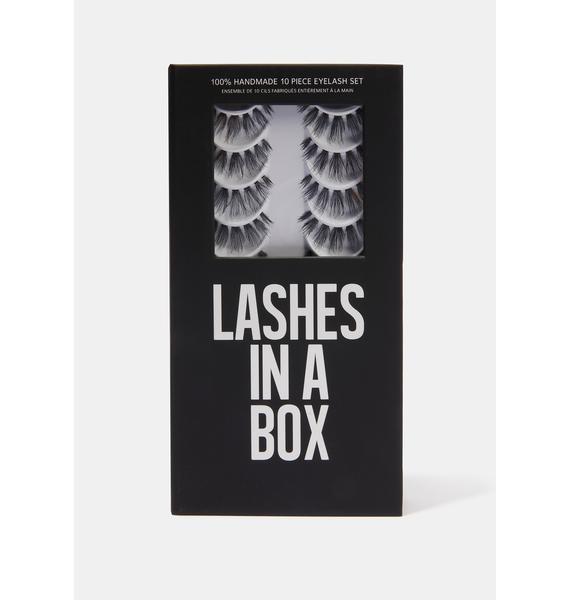 LASHES IN A BOX N°23 Natural Hair Eyelashes