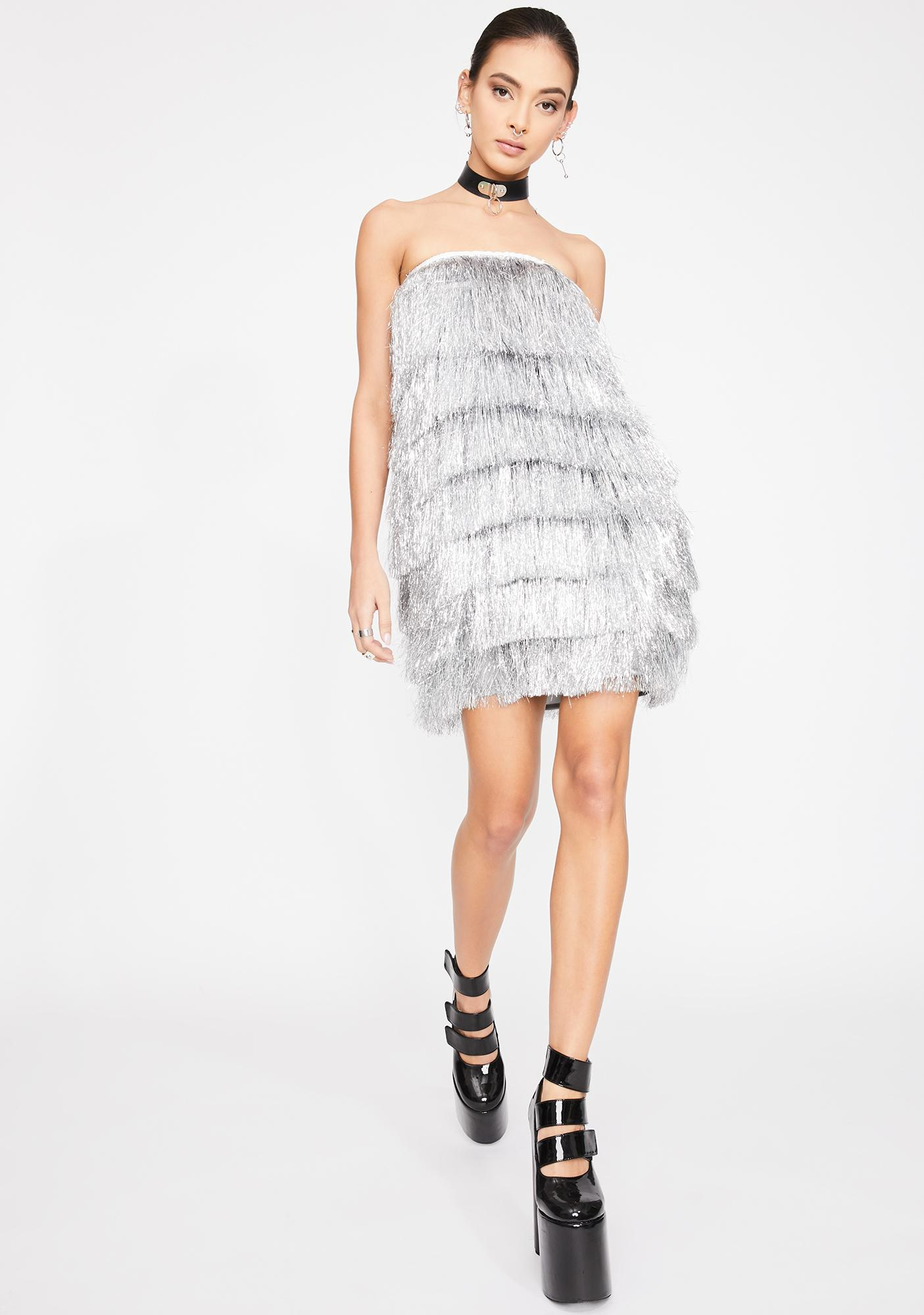 Kiki Riki Flash Dance Fringe Dress