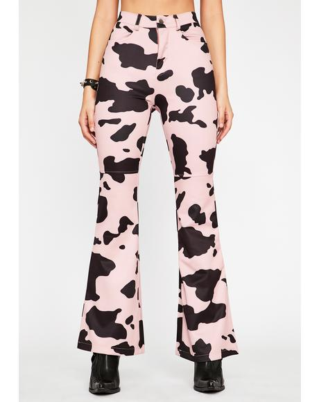 Baby Everything's A1 Cow Print Pants