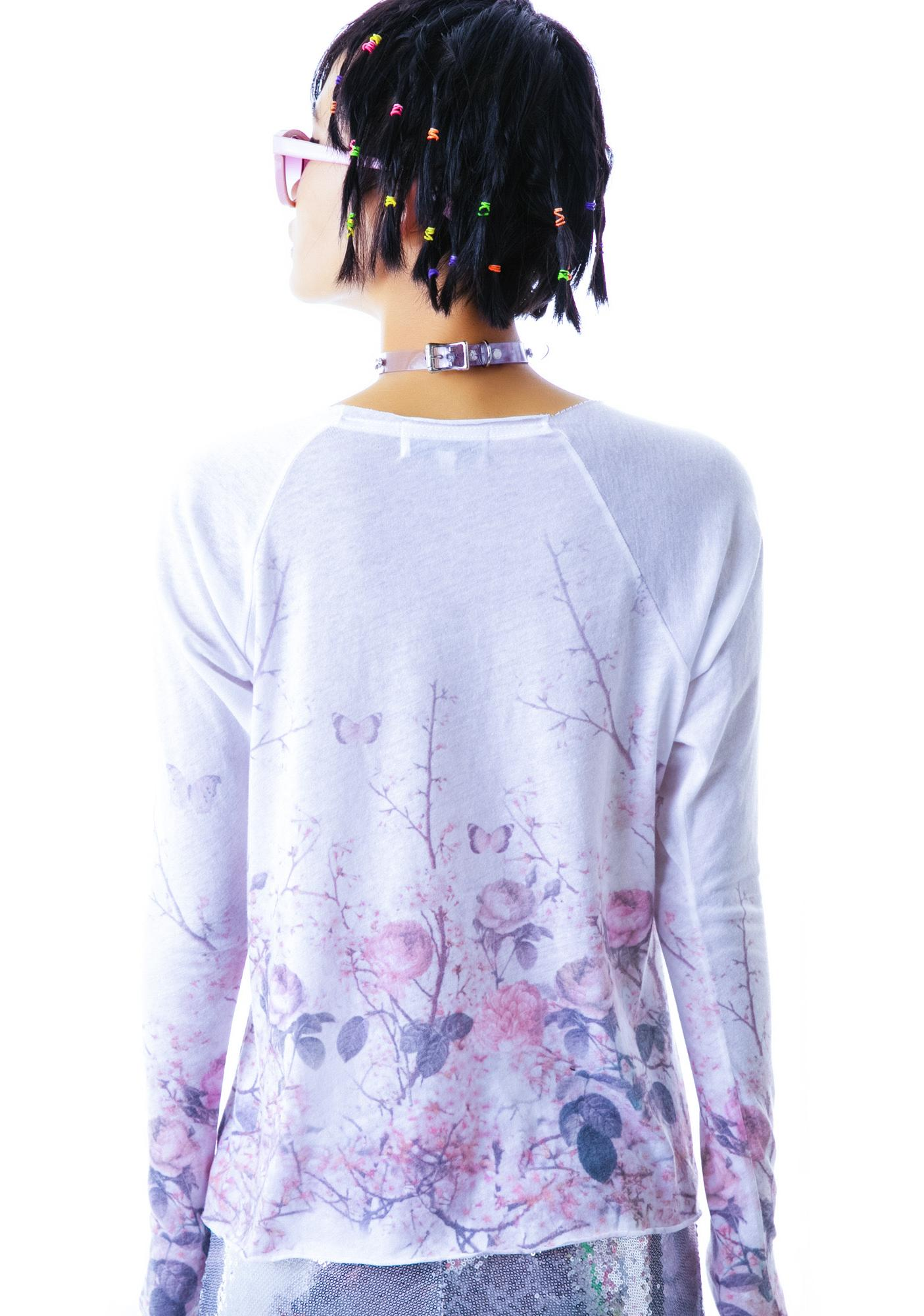 Wildfox Couture Japanese Garden Cozy Raglan