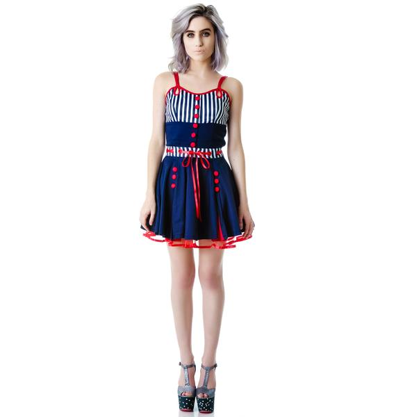 Sail With Me Swing Dress