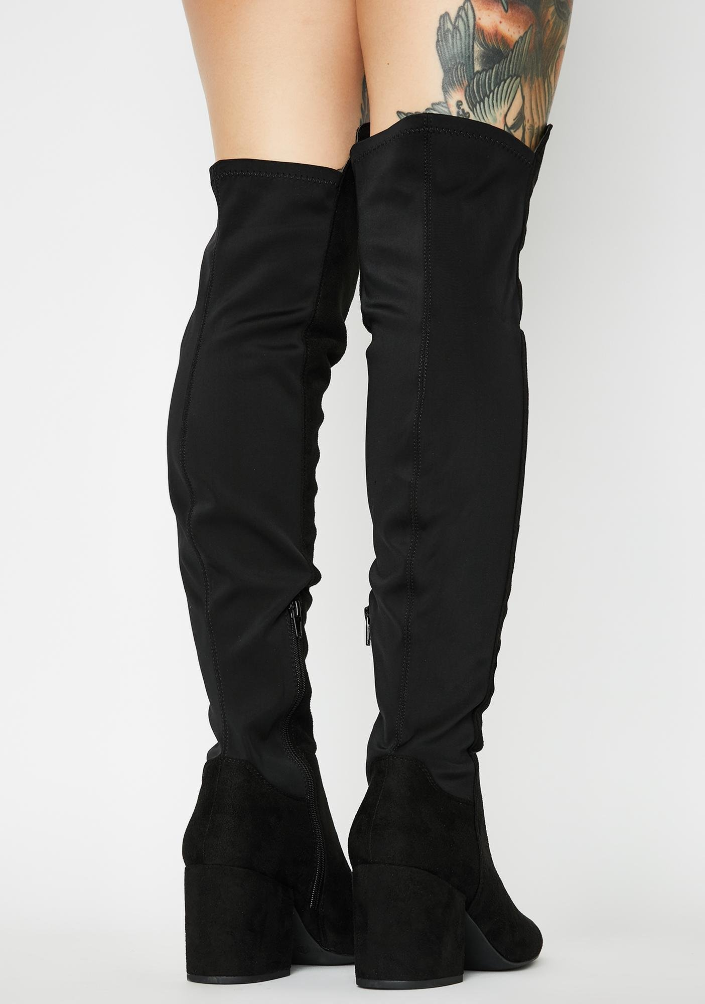 Expect Respect Knee High Boots