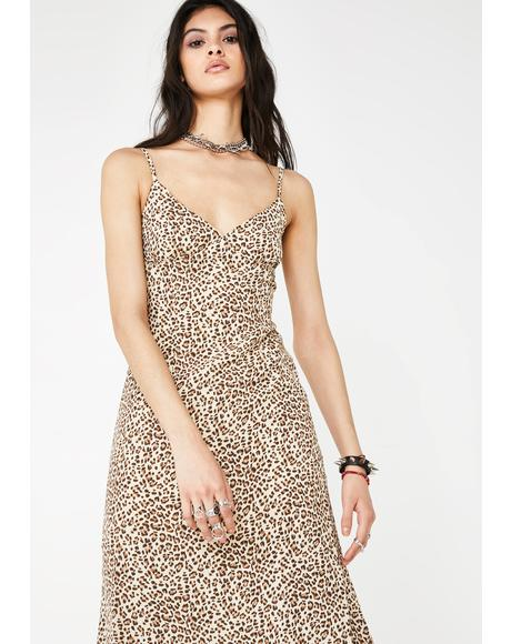 Kitty Got Clawz Slip Dress
