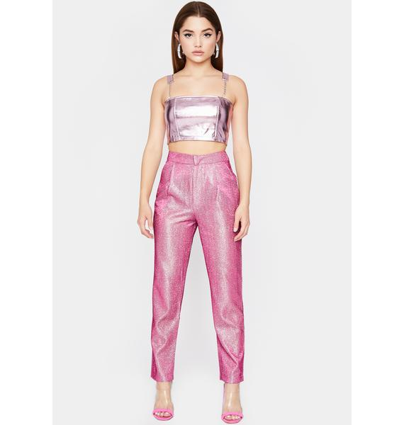 Sweet Disco Diva Sparkle Trousers