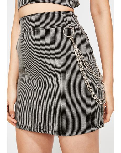Dead Reckoning Mini Skirt