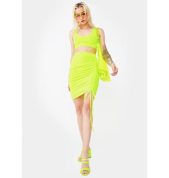 Glam Glow Skirt Set
