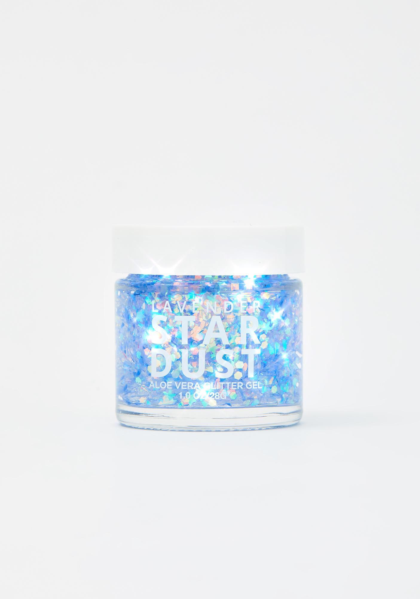 Lavender Stardust Moon Stardust Glitter Gel Pot