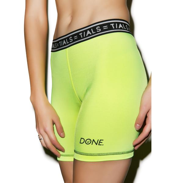 This Is A Love Song Done Bike Shorts
