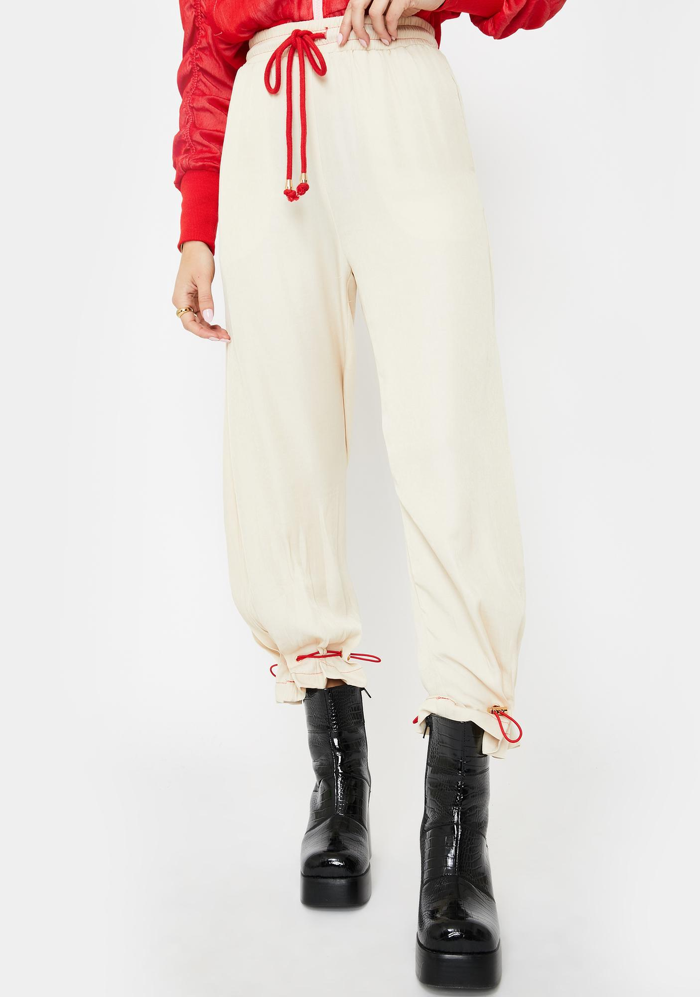 ZYA Vanilla Horizon High Waist Pants