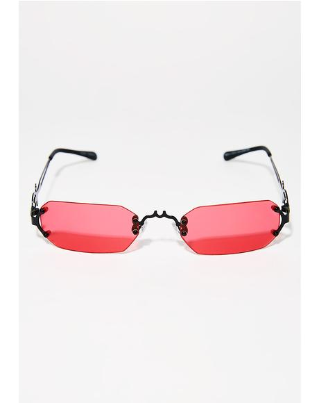 Fly To Transylvania Sunglasses