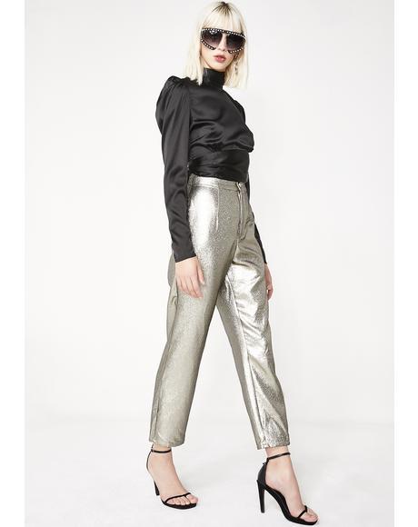 Shimmer Hepburn Pants