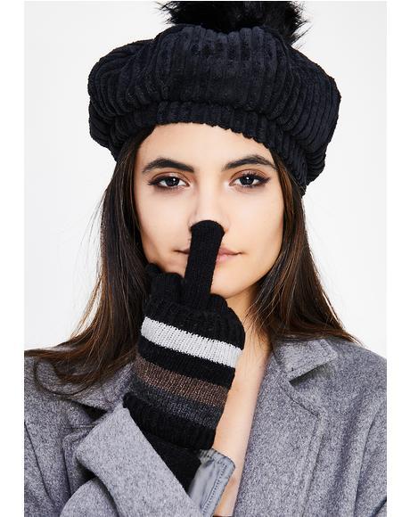 Wanderlust Striped Gloves