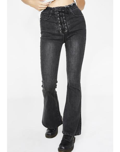 Sinister The Culprit Lace Up Jeans