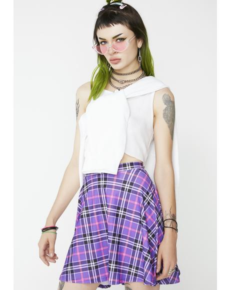Sunday Schoolz Plaid Skirt