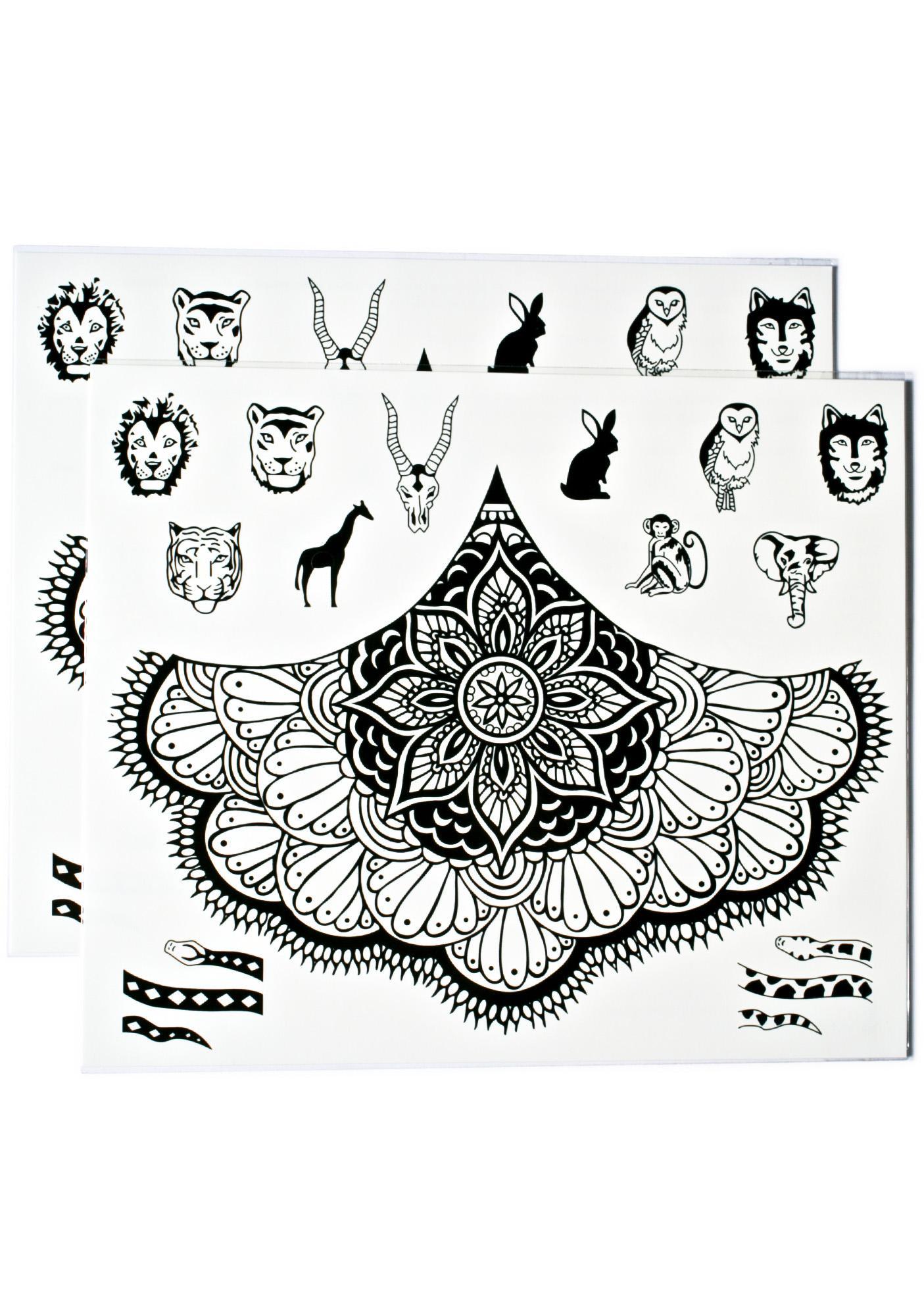 Supreme Instincts Temporary Tattoos