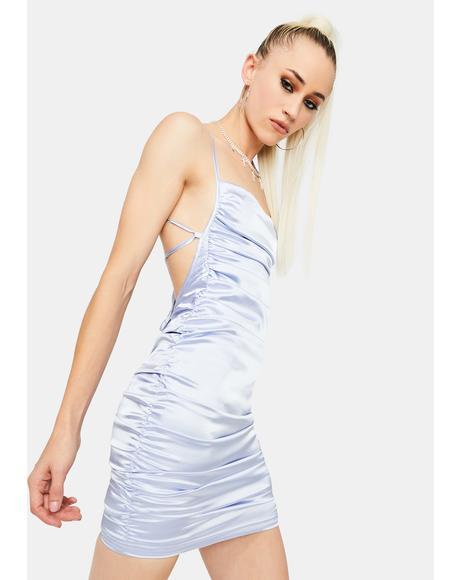 Celebrity Skin Satin Dress