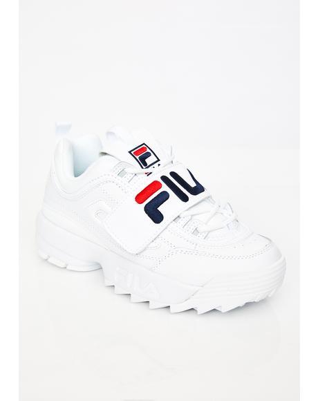 Disruptor II Premium Applique Sneakers