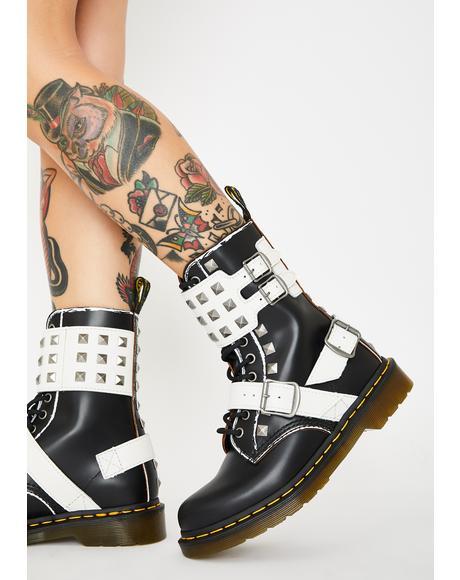 1490 Joska Stud Boots