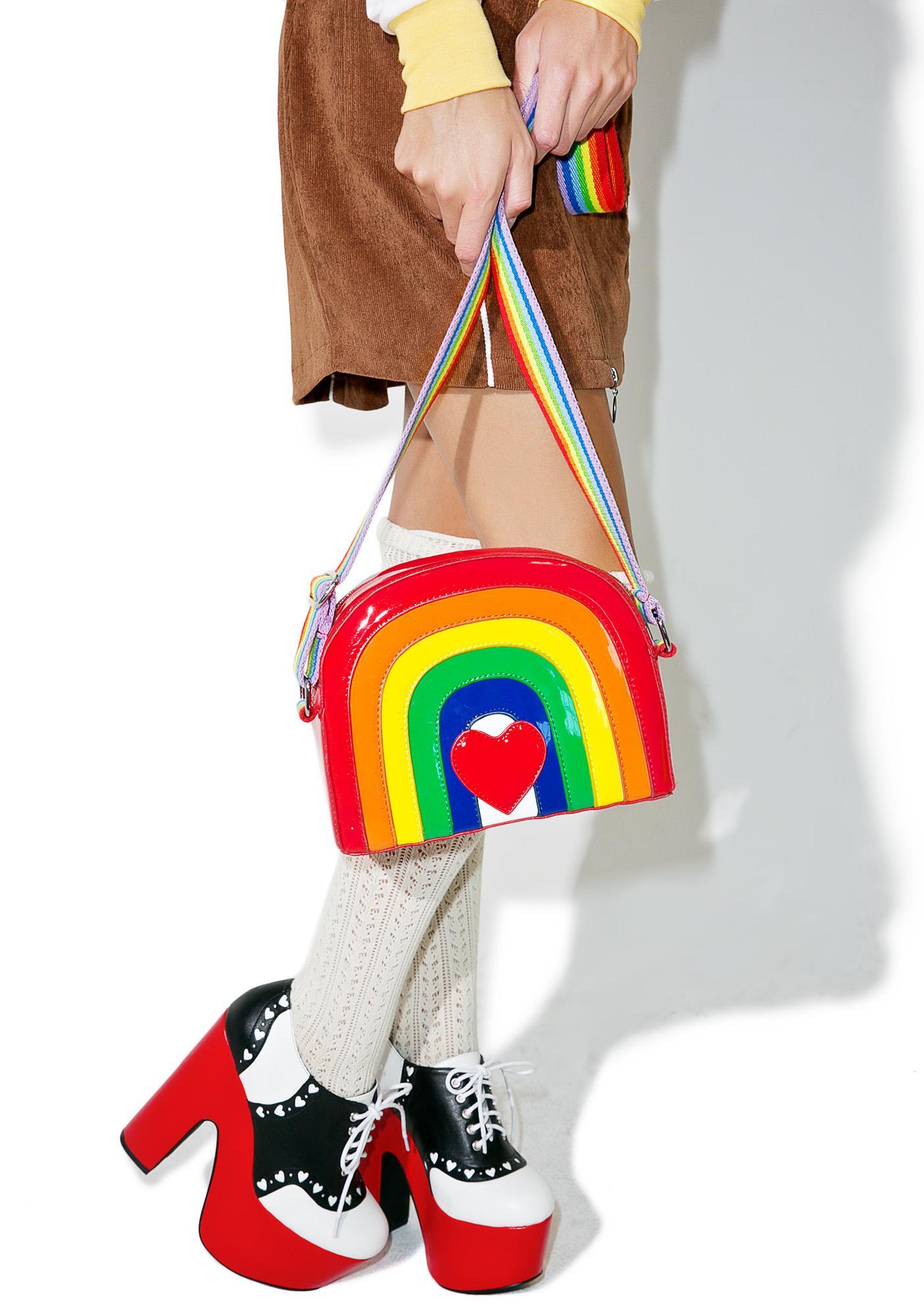 5ff1a9361a Current Mood Over The Rainbow Bag