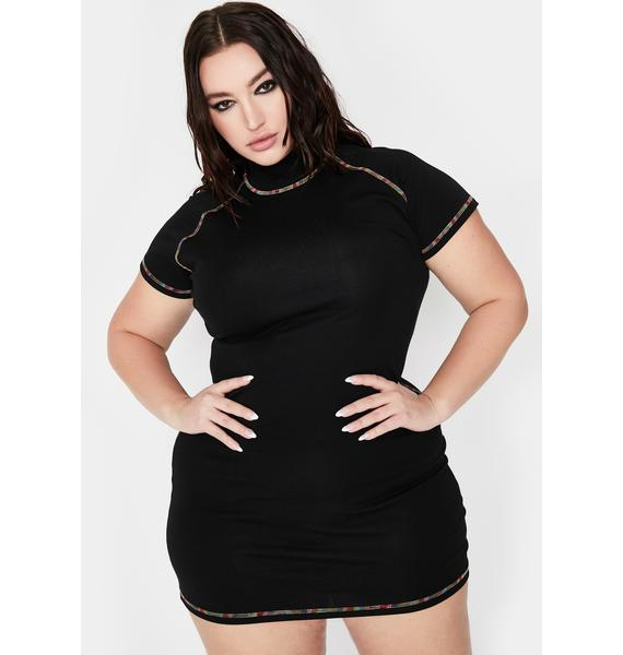 Current Mood Your Favored Icon Mini Dress