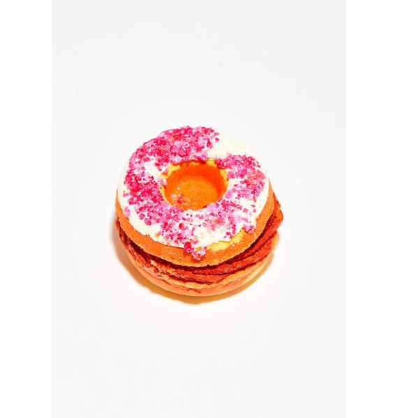 New York's Bathhouse Jelly Donut Sandwich Bath Bomb