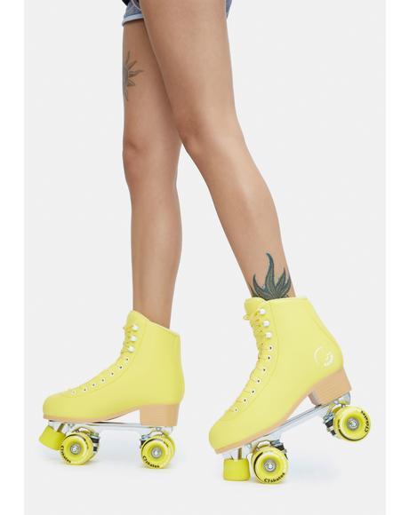 Premium Lemonpop Quad Skates