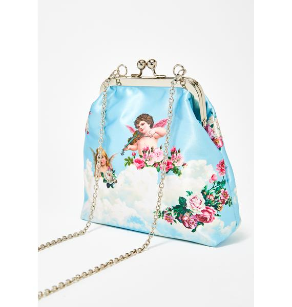 Sugar Thrillz Celestial Sass Satin Purse