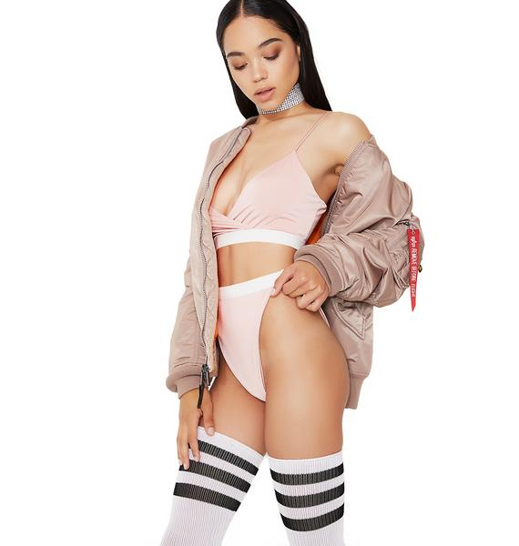 Blush Relaxation Nation Lingerie Set
