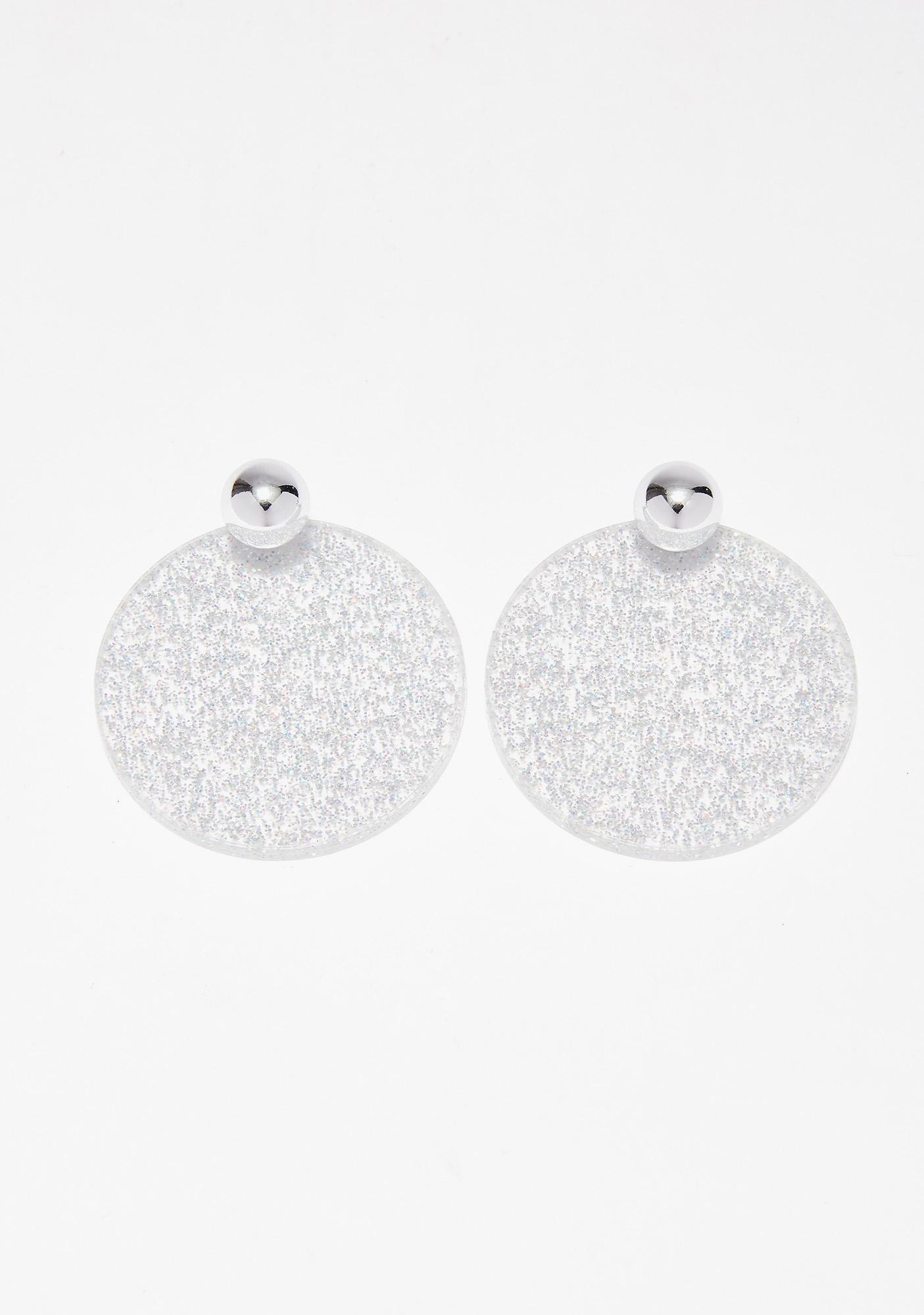 gold cheap stud ball glitter earrings uk price crystal