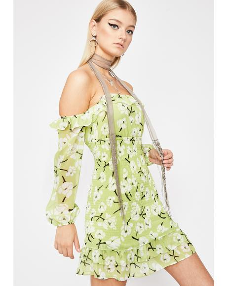 Fleur Fantasy Mini Dress