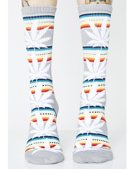 Serape Plantlife Socks