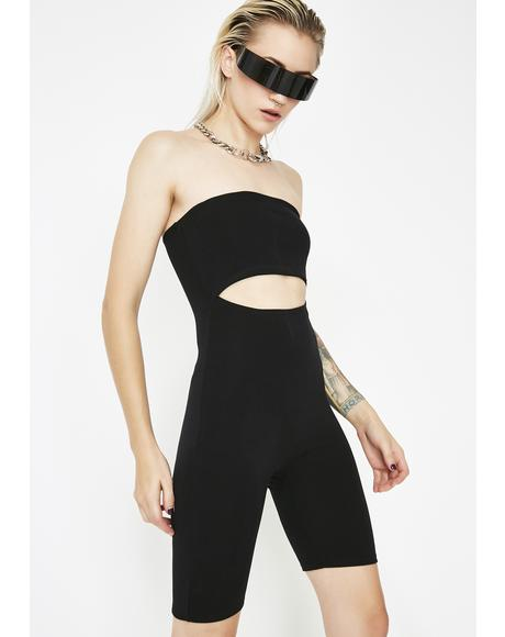 So Egotistic Cut Out Romper
