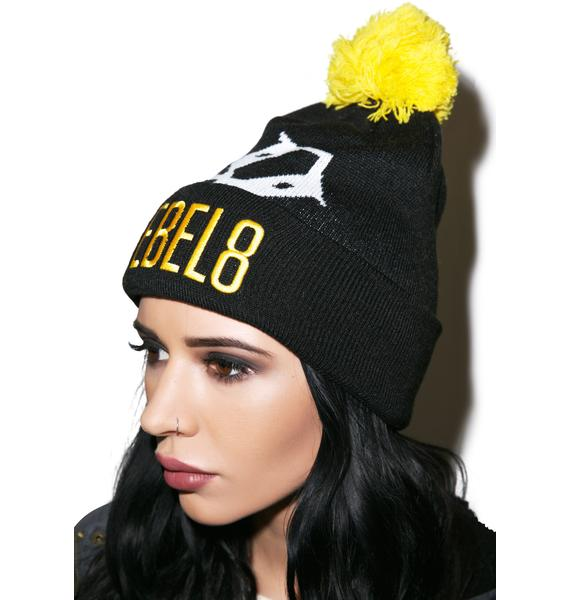 Rebel8 Big 8 Beanie