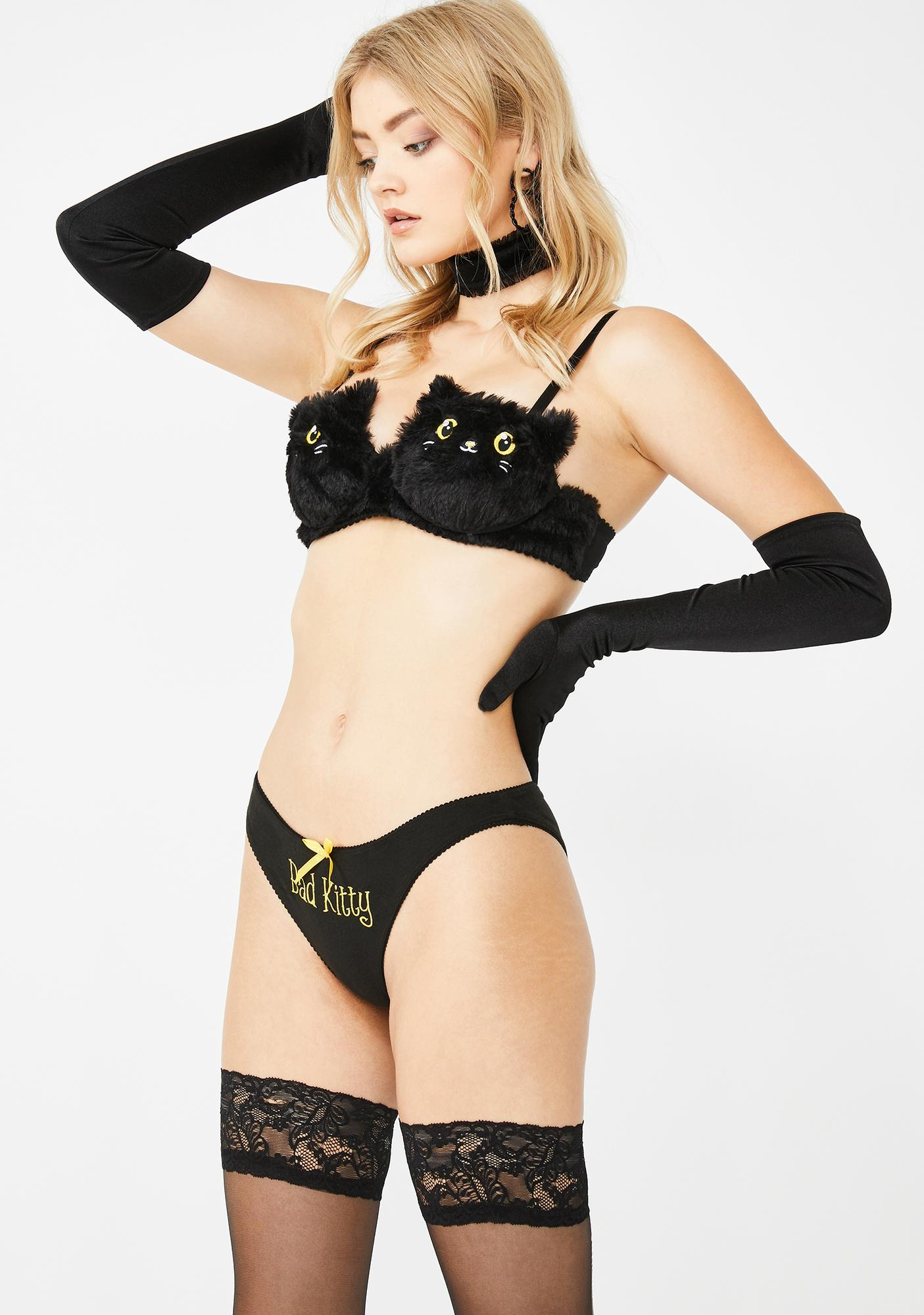 Sugar Thrillz Bad Kitty Lingerie Set