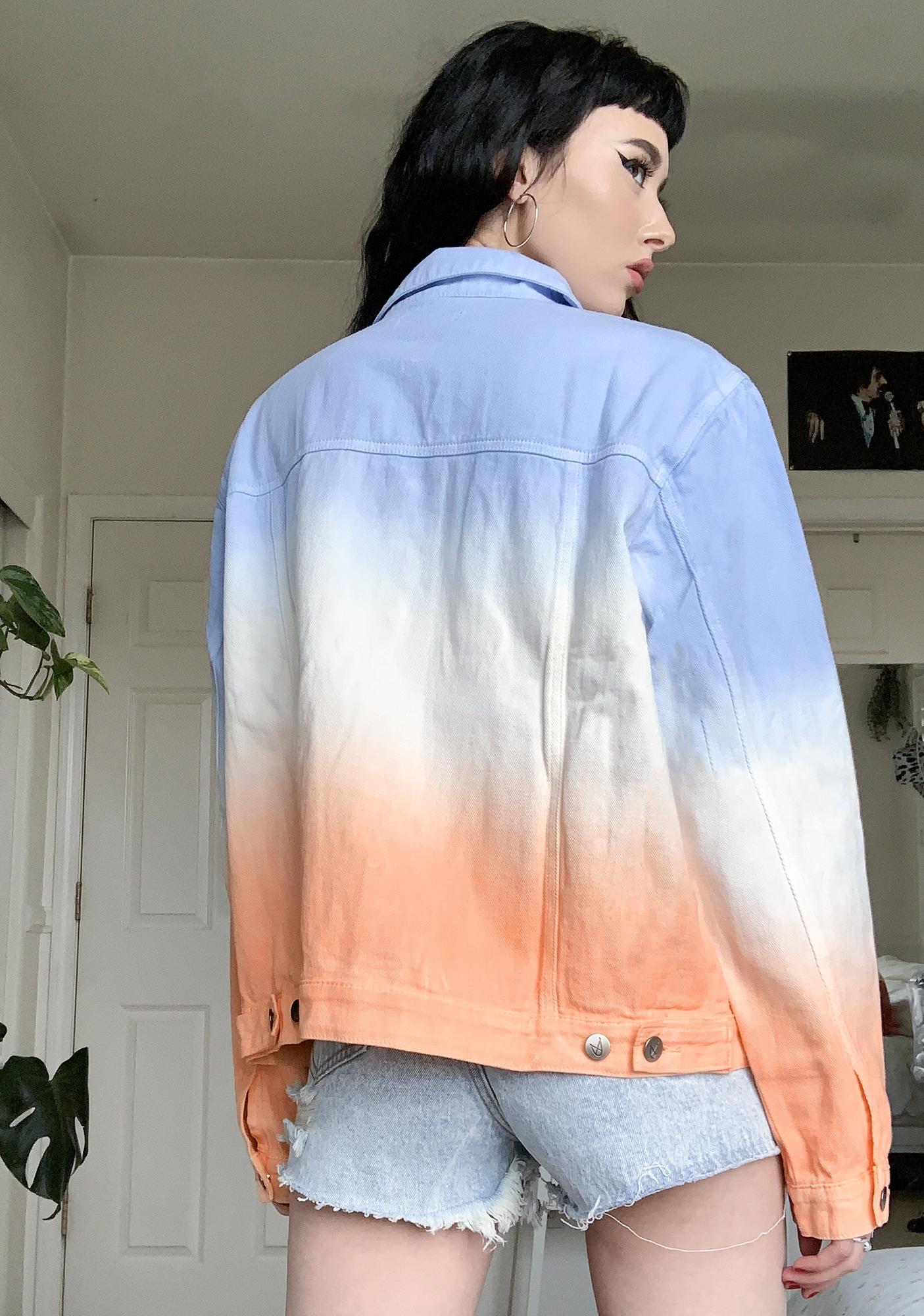 Mink Pink Fade Away Denim Jacket
