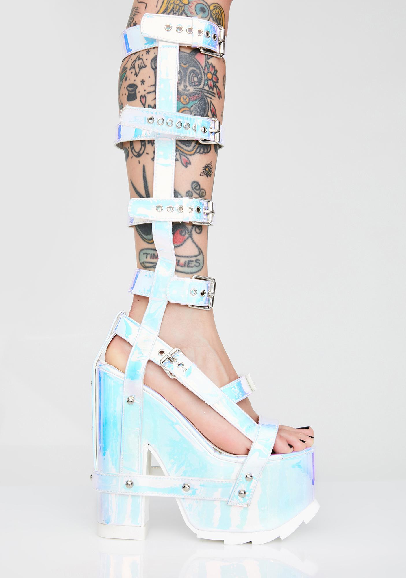 Y.R.U. Atlantis Nightcall Hi Platform Heels