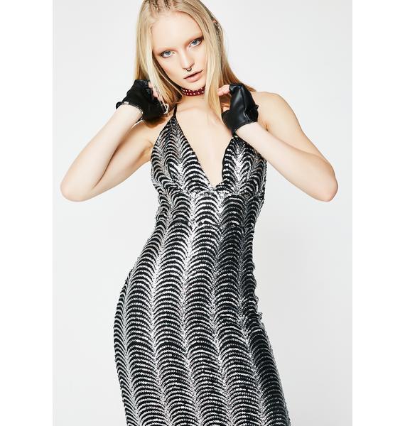 Lights Flashin' Sequin Dress