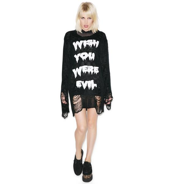 Killstar Wish Knit Sweater