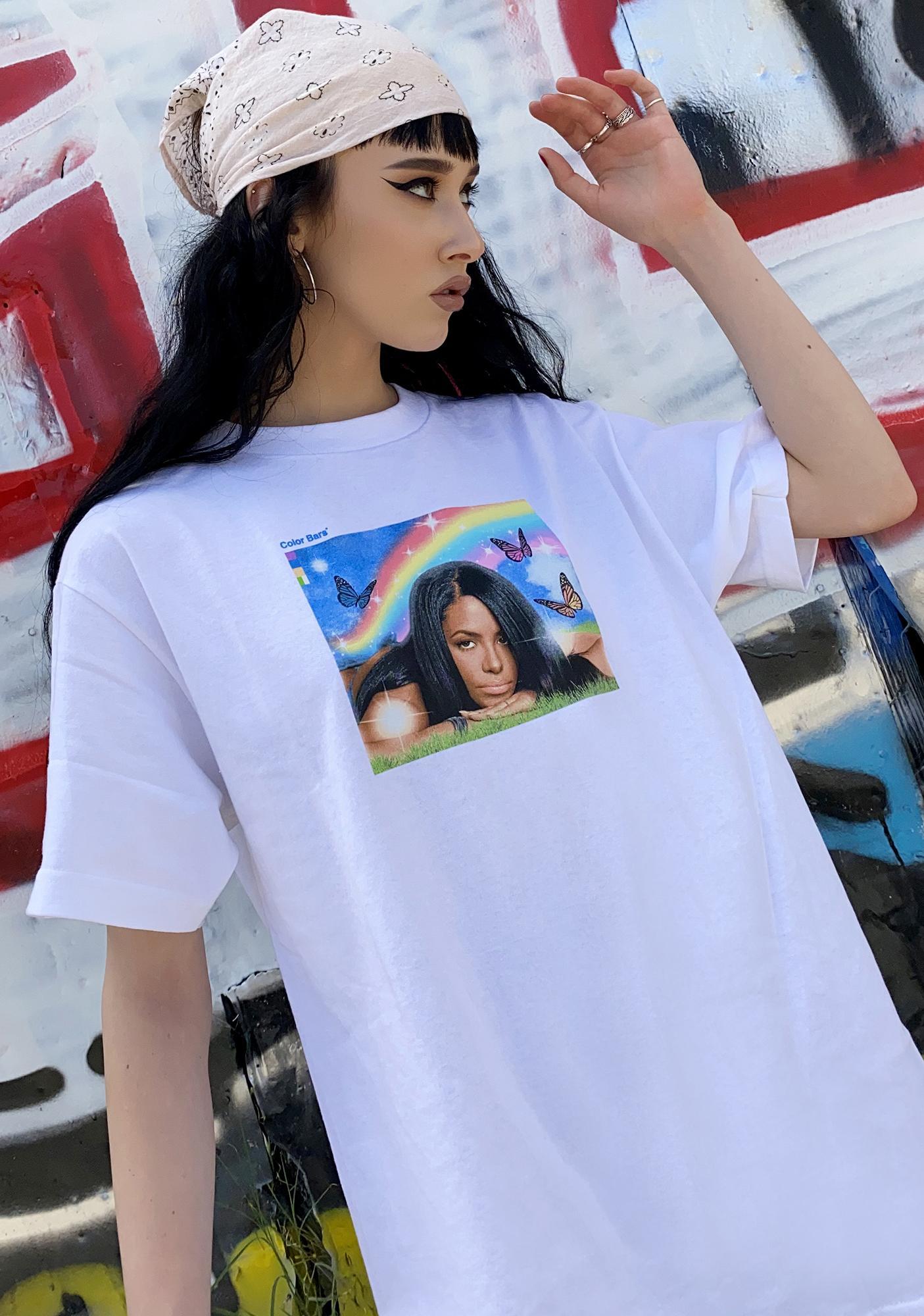 Color Bars X Aaliyah Meadow Graphic Tee