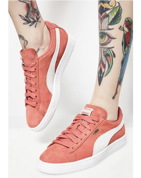 Coral Platform Kiss Lea Sneakers