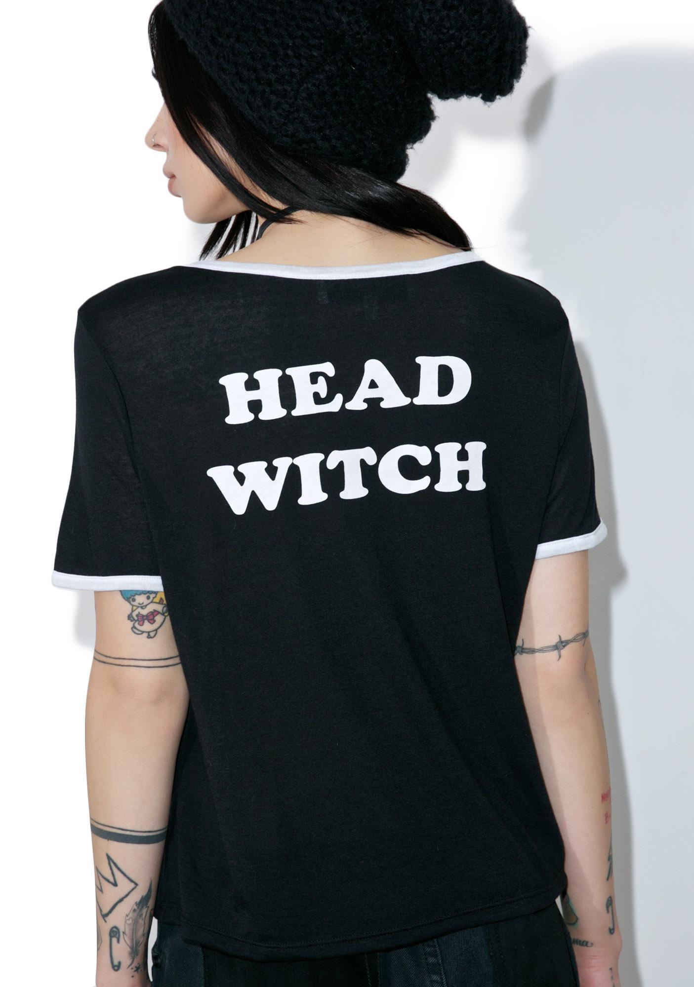 Gypsy Warrior Head Witch Ringer Tee