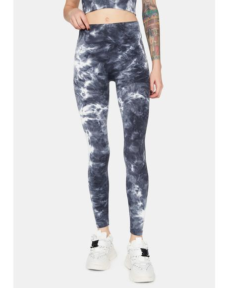 Sport Mode Tie Dye Leggings