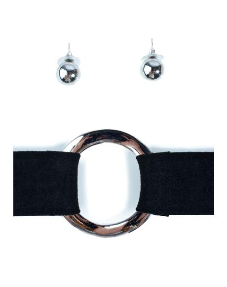 Out N' About O-Ring Choker Set
